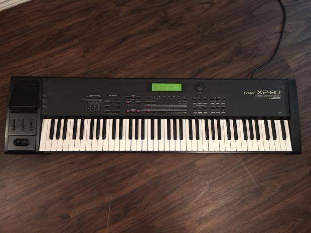 roland xp 80 keyboard synthesizer near mint used synth for sale reverb. Black Bedroom Furniture Sets. Home Design Ideas