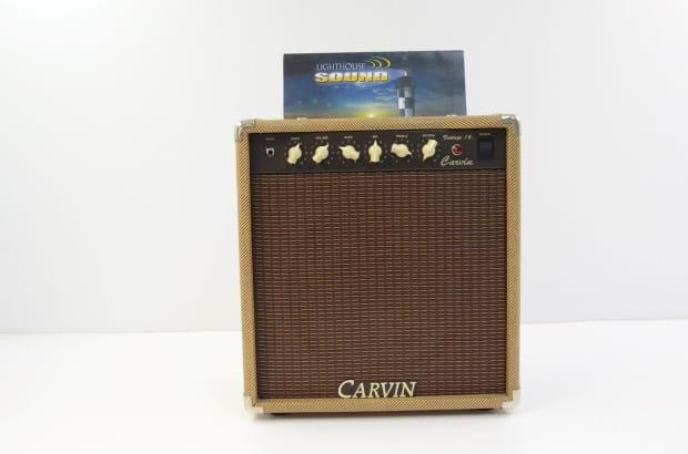 carvin vintage 16 tube combo amplifier tweed reverb. Black Bedroom Furniture Sets. Home Design Ideas