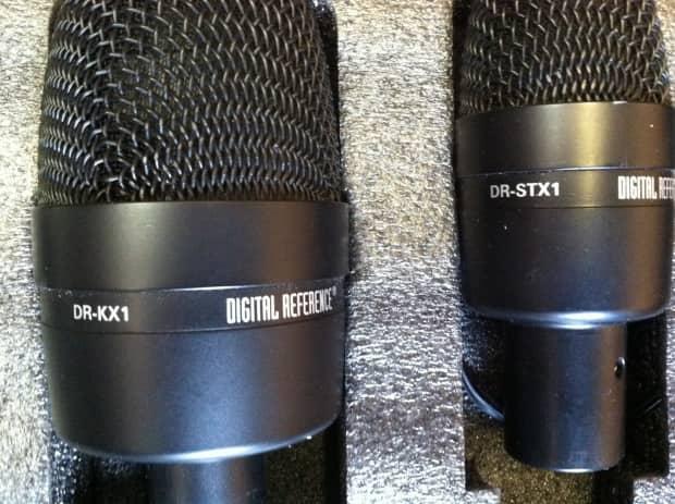 digital reference drum microphone kit 4 tom mics 1 kick reverb. Black Bedroom Furniture Sets. Home Design Ideas