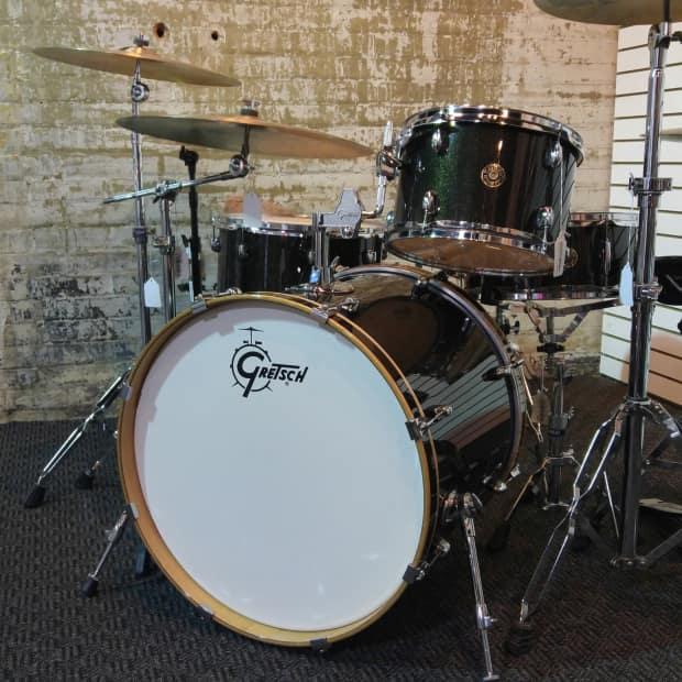 Gretsch Catalina Club Maple 4 Piece Drum Set Reverb