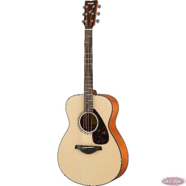 yamaha fs 800 acoustic guitar natural reverb