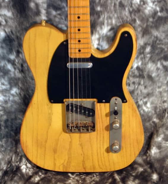 all parts guitar parts 1950 39 s custom relic tele reverb. Black Bedroom Furniture Sets. Home Design Ideas