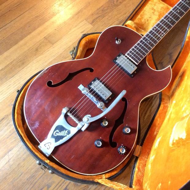 Guild Starfire III 1966 Cherry MJ Guitars