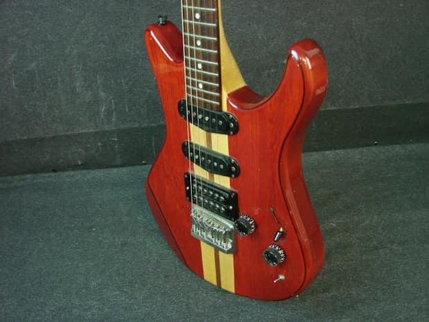 yamaha sc600 electric guitar w case made in japan sc 600 reverb. Black Bedroom Furniture Sets. Home Design Ideas