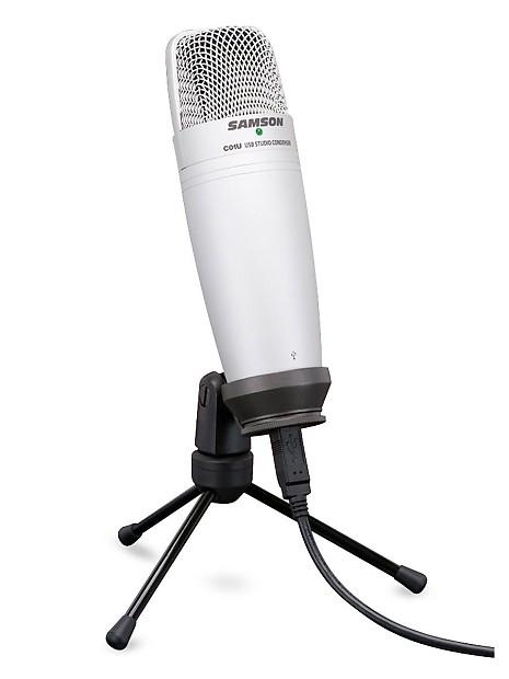 samson c01u usb studio condenser microphone bundle with mic reverb. Black Bedroom Furniture Sets. Home Design Ideas