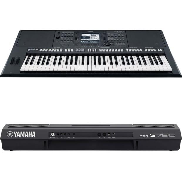 Yamaha psrs750 61 key digital arranger workstation used for Yamaha psr s770 61 key arranger workstation