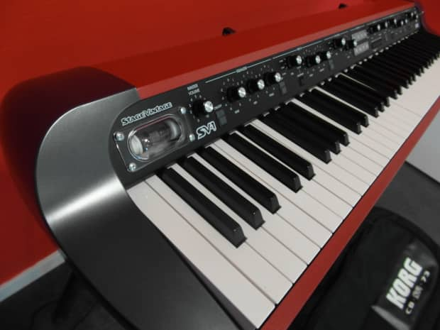 korg sv1 red edition 73 keys reverb. Black Bedroom Furniture Sets. Home Design Ideas