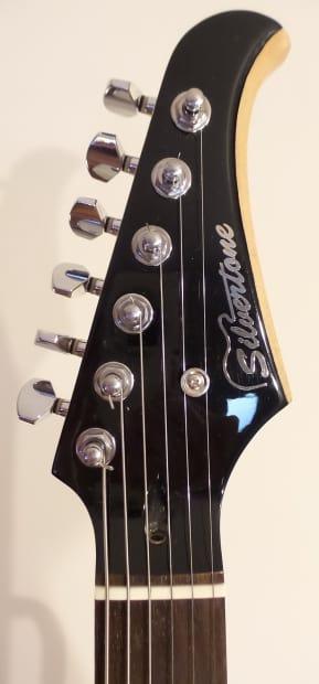silvertone ss 11 strat style electric guitar reverb. Black Bedroom Furniture Sets. Home Design Ideas