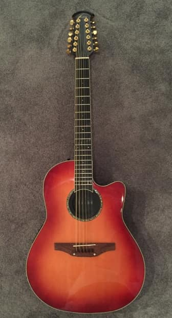 Ovation CC245HB Celebrity 12 String Acoustic Electric ...