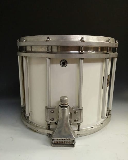 pearl 14x12 marching parade snare drum white reverb. Black Bedroom Furniture Sets. Home Design Ideas