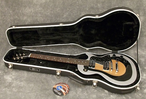 gibson les paul jr special 2001 silver  black  gold   920d
