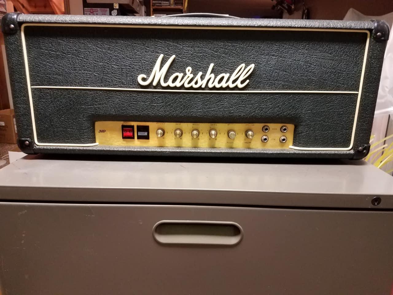 marshall 1976 marshalll jmp 50 mkii 50watt new tubes 1976 reverb. Black Bedroom Furniture Sets. Home Design Ideas