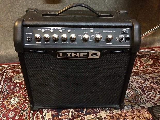 line 6 spider iv 15 watt guitar combo amp reverb. Black Bedroom Furniture Sets. Home Design Ideas