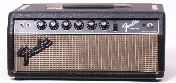 fender vintage fender sidekick sk100b electric guitar bass amplifier head 100w amp reverb. Black Bedroom Furniture Sets. Home Design Ideas