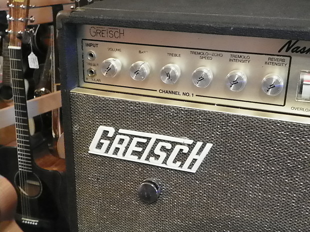 Gretsch Vintage 7154 Nashville Solid State Amplifier Amp