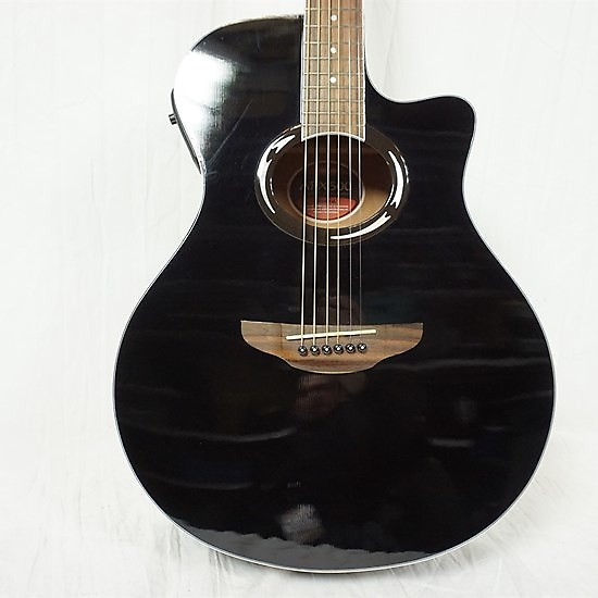 used yamaha apx 500 acoustic guitar black reverb. Black Bedroom Furniture Sets. Home Design Ideas