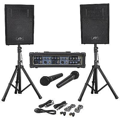 peavey audio performer pack portable pa system mixer amp reverb. Black Bedroom Furniture Sets. Home Design Ideas