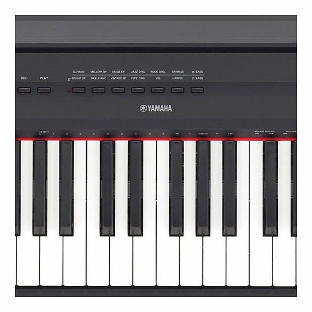yamaha p 115b 88 key digital piano in black reverb