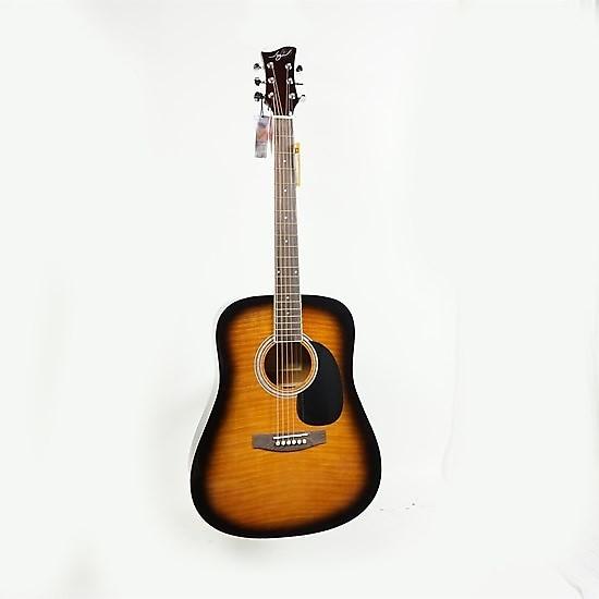 used jay turser jj45 tsb acoustic guitar sunburst reverb. Black Bedroom Furniture Sets. Home Design Ideas