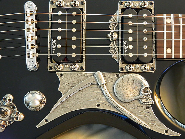 skull pickguard for bc rich warlock guitar custom made in usa reverb. Black Bedroom Furniture Sets. Home Design Ideas