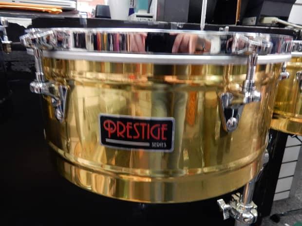 Latin percussion prestige srs brass timbales reverb for Prestige motors paramus nj