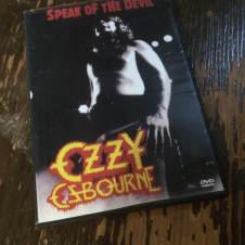 Ozzy Osbourne Speak Of The Devil Live DVD image
