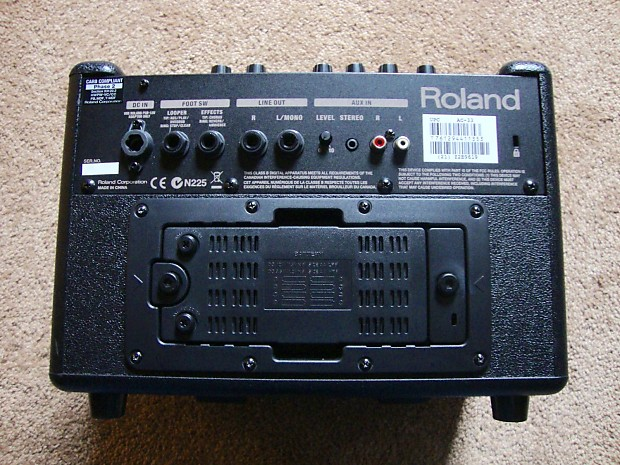 roland ac 33 with padded carrying case reverb. Black Bedroom Furniture Sets. Home Design Ideas