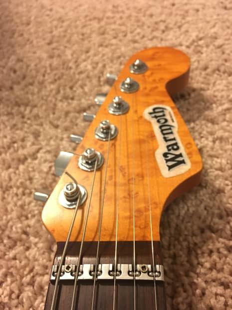 Warmoth Super Strat Guitar Reverb