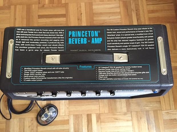 fender 39 68 princeton reverb reissue w speaker upgrade reverb. Black Bedroom Furniture Sets. Home Design Ideas
