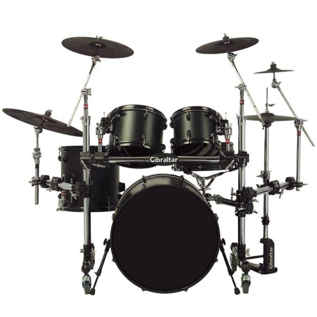 gibraltar roll away drum kit rack reverb. Black Bedroom Furniture Sets. Home Design Ideas