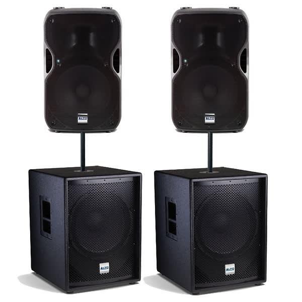 Alto Professional Sound System W Cases Reverb