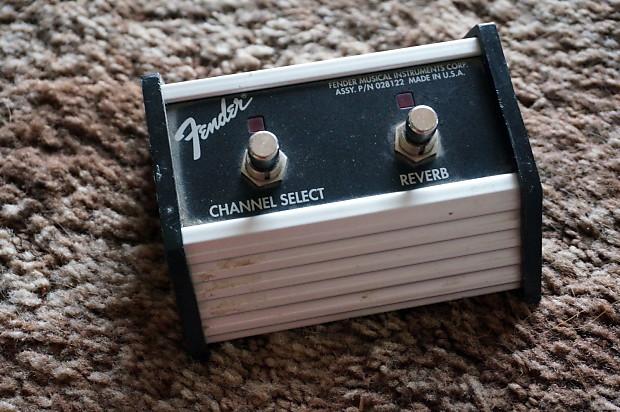 fender amp 2 button footswitch channel selector guitar reverb. Black Bedroom Furniture Sets. Home Design Ideas
