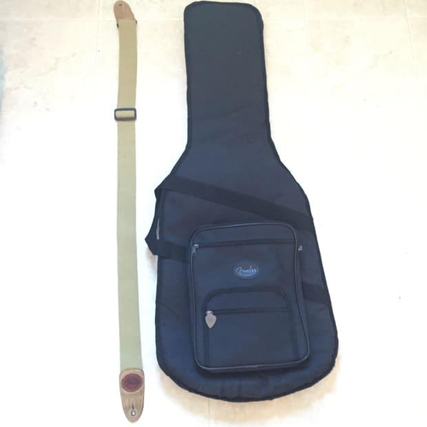 fender soft guitar case strap reverb. Black Bedroom Furniture Sets. Home Design Ideas