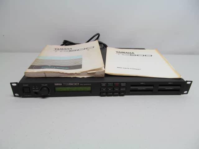 yamaha tg500 tone generator rack type effect synthesizer w. Black Bedroom Furniture Sets. Home Design Ideas