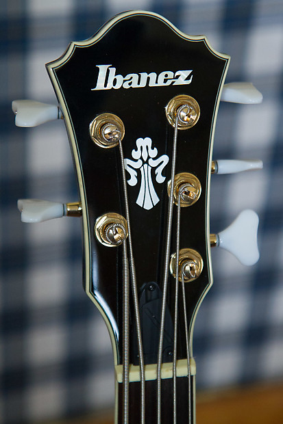 ibanez agb205 dbs 5 string hollow body short scale bass reverb. Black Bedroom Furniture Sets. Home Design Ideas
