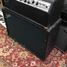 Fender PA-100 Tube Amp Head and cabinet image