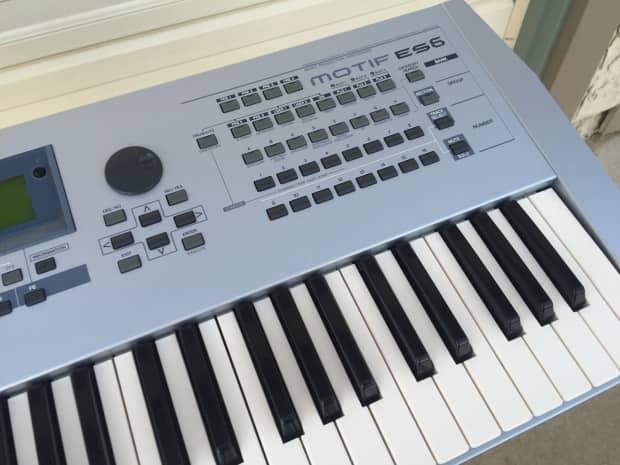 Yamaha motif es 6 61 key keyboard synth excellent used for Yamaha motif keyboard