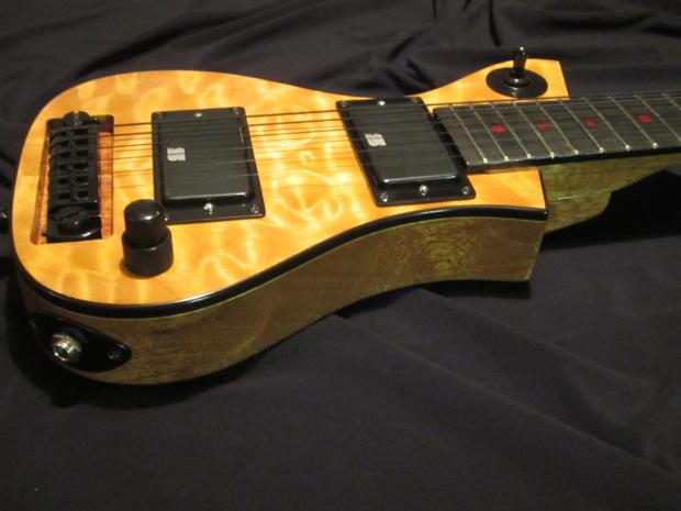 mxb travel guitar custom built electric small guitar mini guitar usa. Black Bedroom Furniture Sets. Home Design Ideas