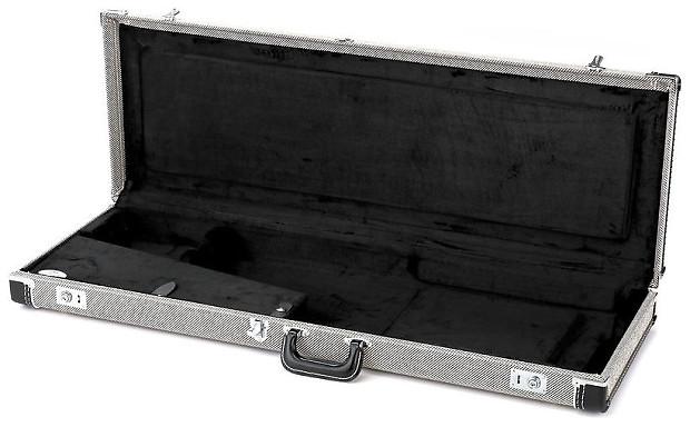 fender g g hardshell deluxe black tweed strat tele reverb. Black Bedroom Furniture Sets. Home Design Ideas