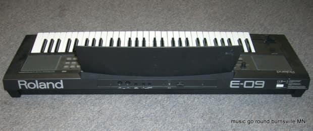 roland e 09 interactive arranger electronic keyboard reverb. Black Bedroom Furniture Sets. Home Design Ideas