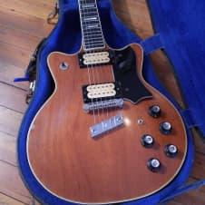 Guild M-80 CS Electric Guitar 1976 Natural #144517 w/Case image