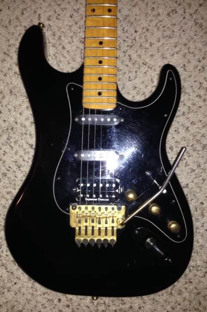 vintage 1983 kramer pacer usa made electric guitar with case reverb. Black Bedroom Furniture Sets. Home Design Ideas