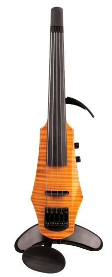 NS Design WAV5 Electric Violin, Amberburst image