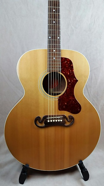gibson sj 100 usa jumbo acuostic guitar bubinga with case reverb. Black Bedroom Furniture Sets. Home Design Ideas