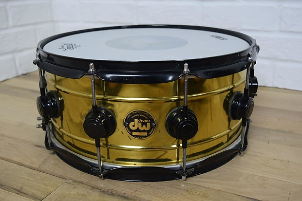 dw collectors 14x6 snare drum excellent used drums for sale reverb