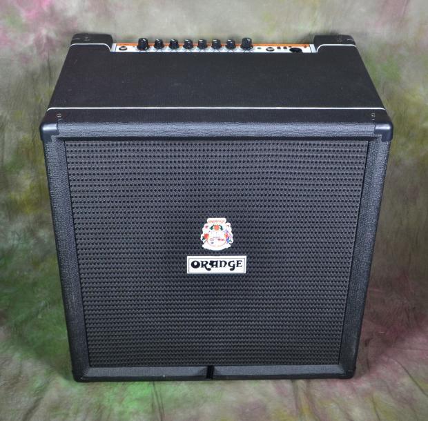 orange crush pix cr100bxt 100w bass guitar combo amp black tolex namm demo 20 reverb. Black Bedroom Furniture Sets. Home Design Ideas