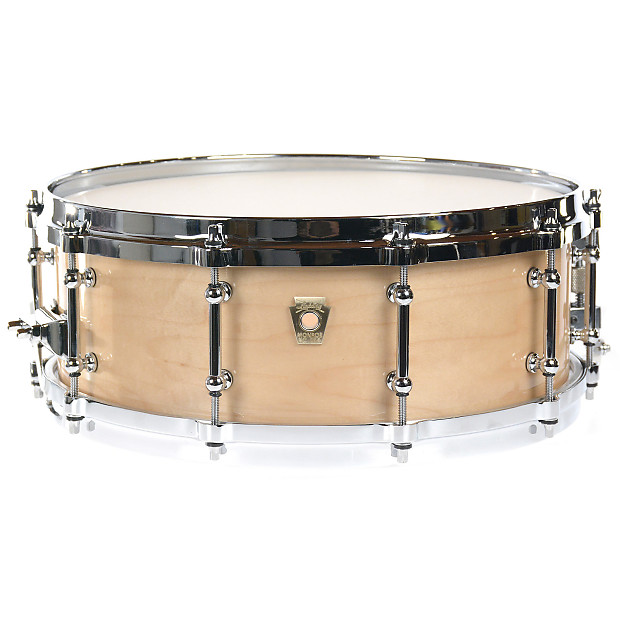 ludwig 5x14 classic maple snare drum chrome cast hoops tube reverb. Black Bedroom Furniture Sets. Home Design Ideas