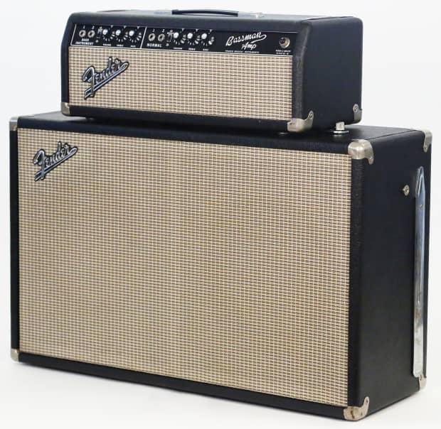 1965 fender bassman amp amplifier 100 all original super reverb. Black Bedroom Furniture Sets. Home Design Ideas