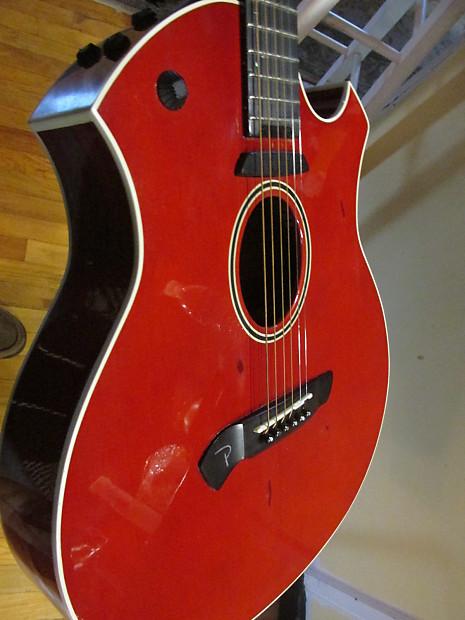 Parker Event Series P6etr Slim Acoustic Electric Guitar W