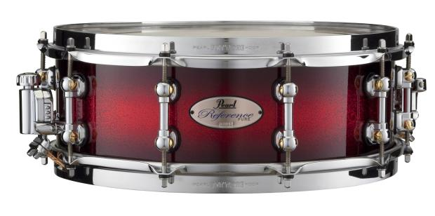 pearl snare drums 14x5 reference pure series snare drum scarlet sparkle burst reverb. Black Bedroom Furniture Sets. Home Design Ideas